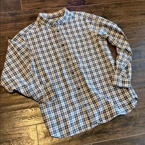 Columbia Plaid Flannel Shirt Large